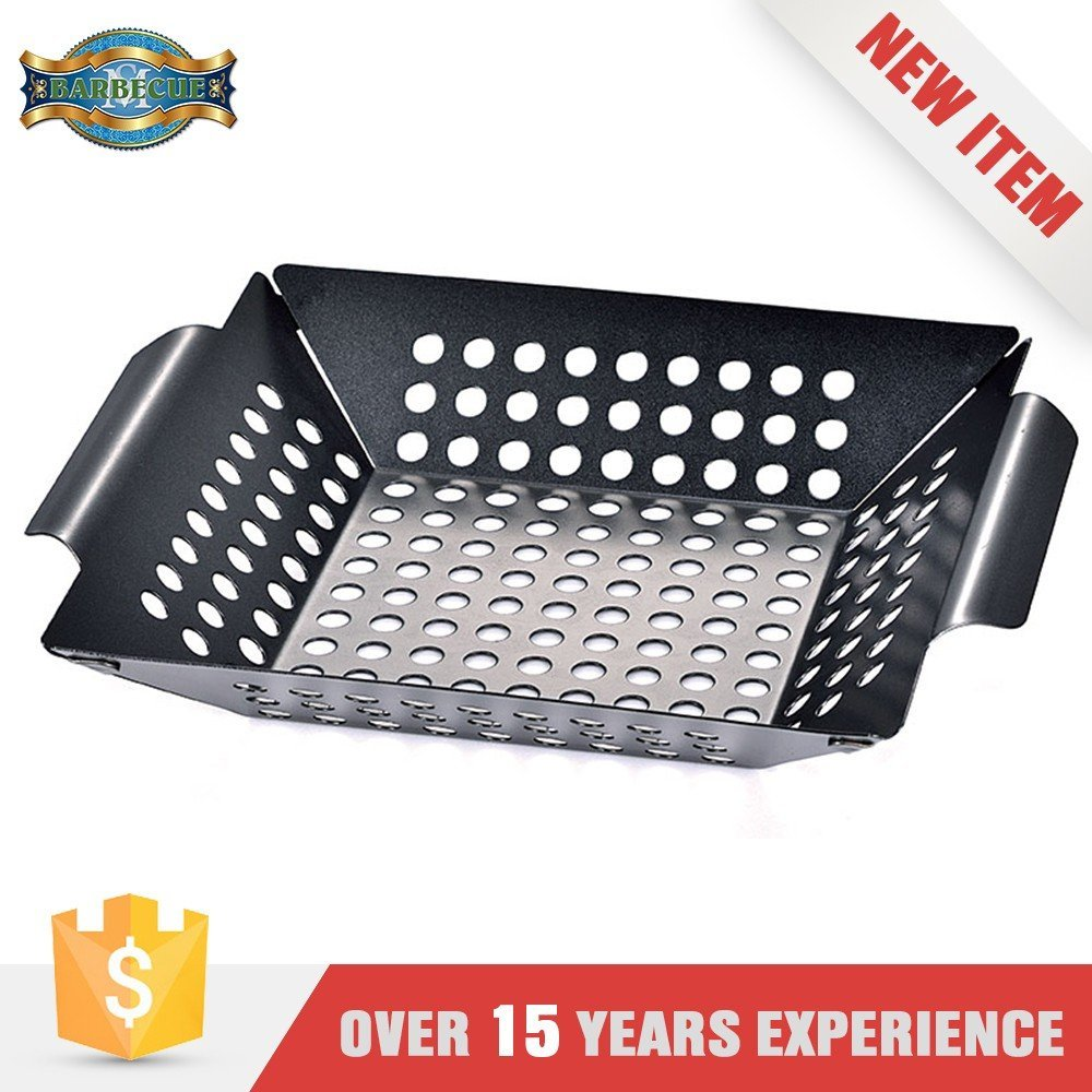 New Product Corrosion Resistance Grilling Square Grill Topper Wok