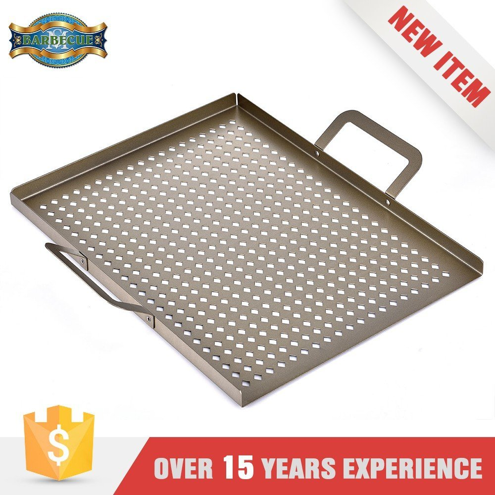 High Quality Flat Square Bbq Grill Topper