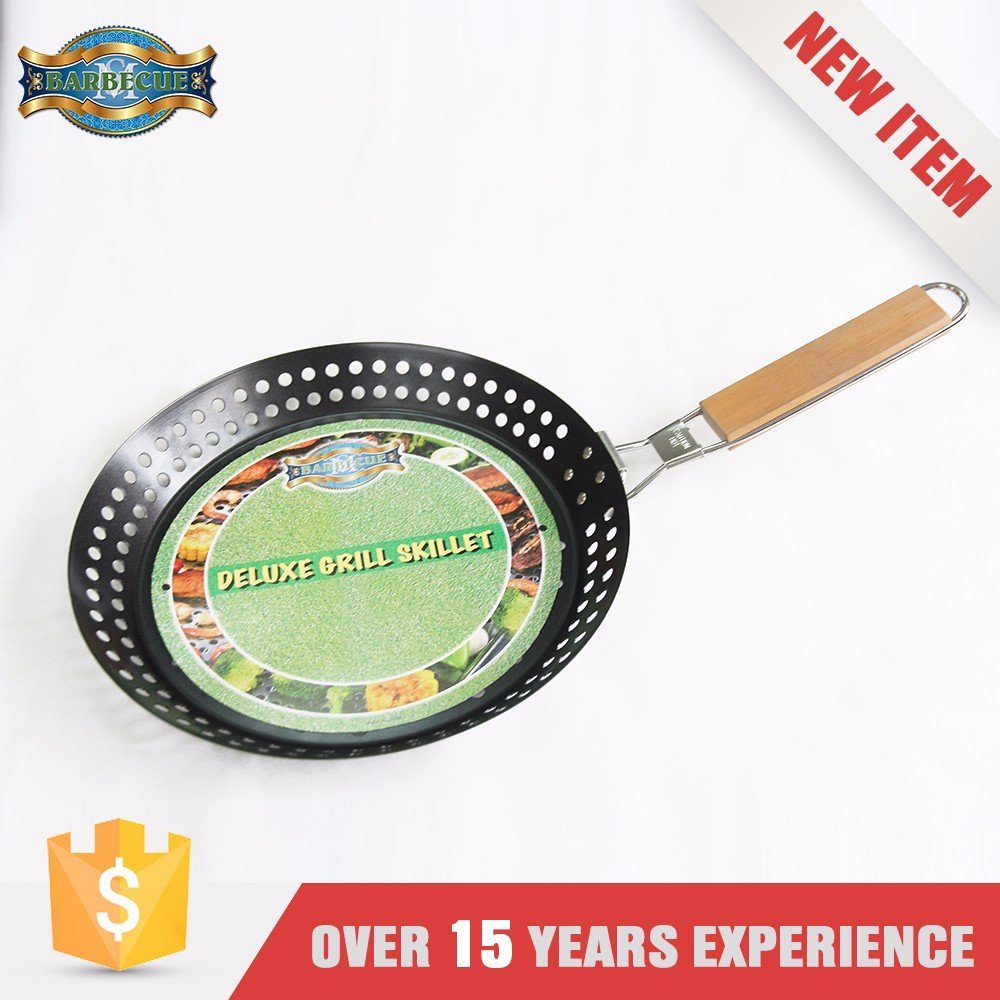 Hot Product Oem/Odm Service Simple Pan Vegetable Grill Topper With Handle