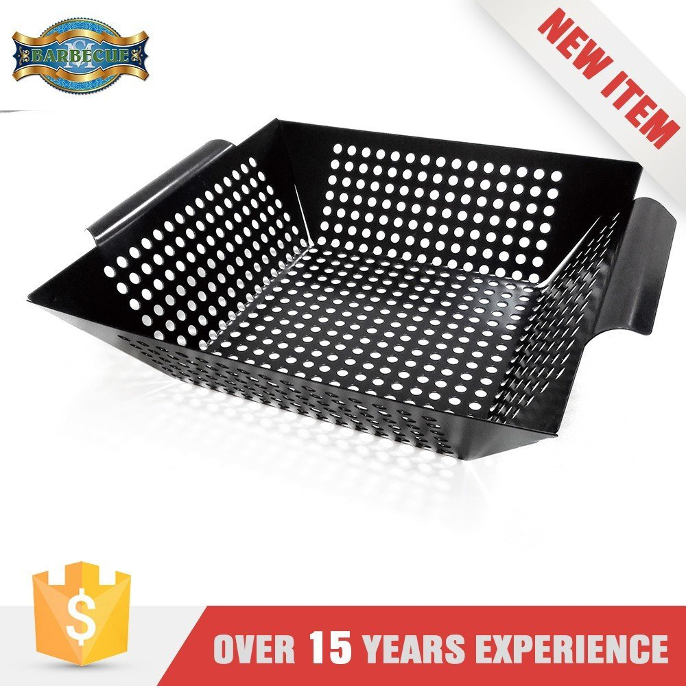 Hot Product Oem/Odm Service Bbq Pan Healthy Cooking Stamped Steel Wok Topper