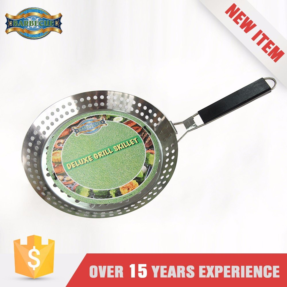 High Quality With Removable Handle Handled Topper Chinese Wok Pan