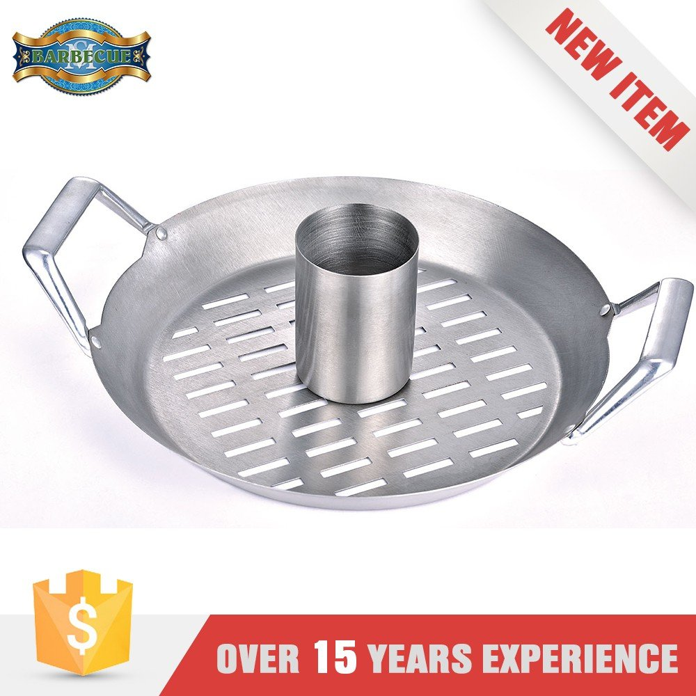 New Product Corrosion Resistance Frying Grilling 12Inches Round Grill Wok Topper