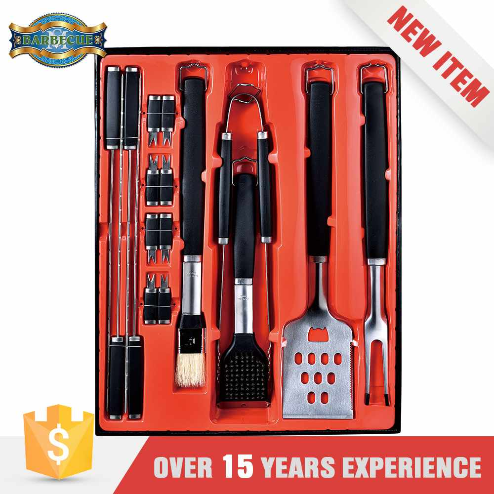 Excellent Quality Plastic Barbecue Tool Bbq Grill Tools Set