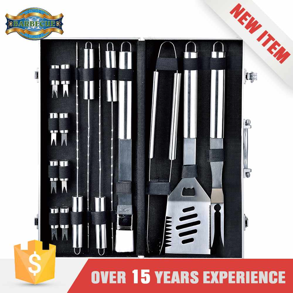 Lightweight Stainless Steel Bbq Grilling Tools Utensils Bbq Kit