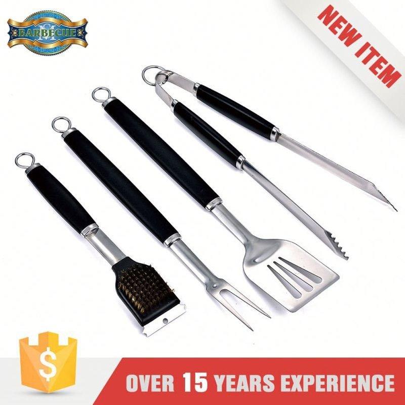 Eco-Friendly Barbecue Grilling Plastic Handle Mini Bbq Tools