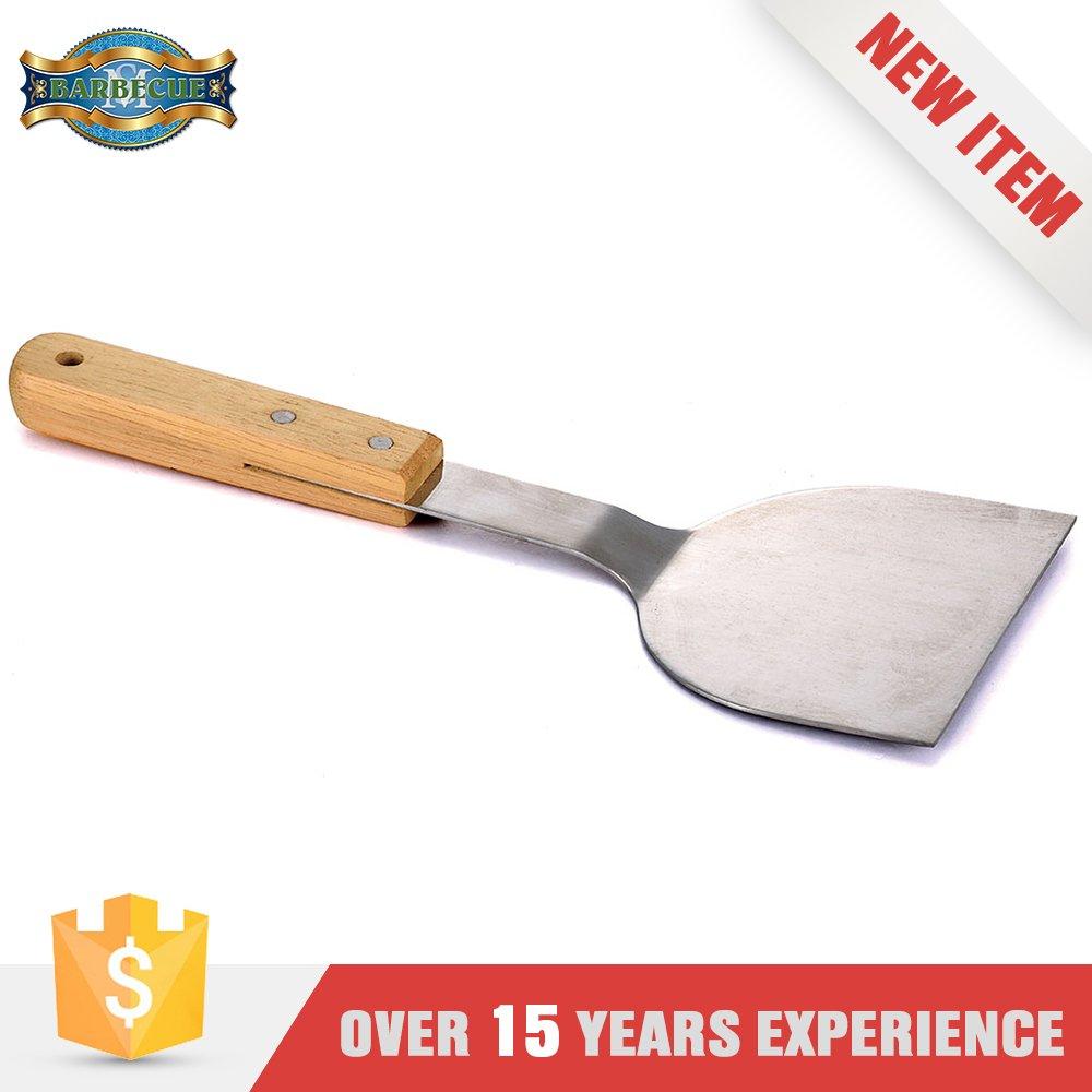 Alibaba Hot New Product Bbq Grill Scraper Teppanyaki Spatula