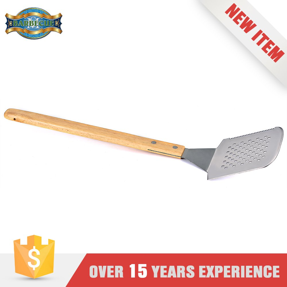 Hot Sale Metal Different Bbq Grill Spatulas Types Of Spatula