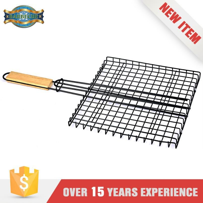 Easily Cleaned Bbq Grilling Basket For Hamburger