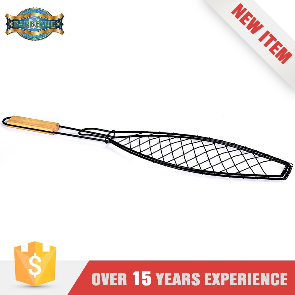 Alibaba Hot Products Barbecue Basket Steel Wire Grid Fish Grill