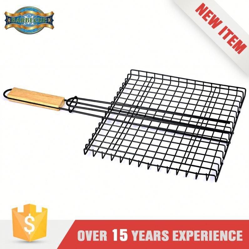 Heat Resistance Bbq Grilling Hamburger Grilling Basket