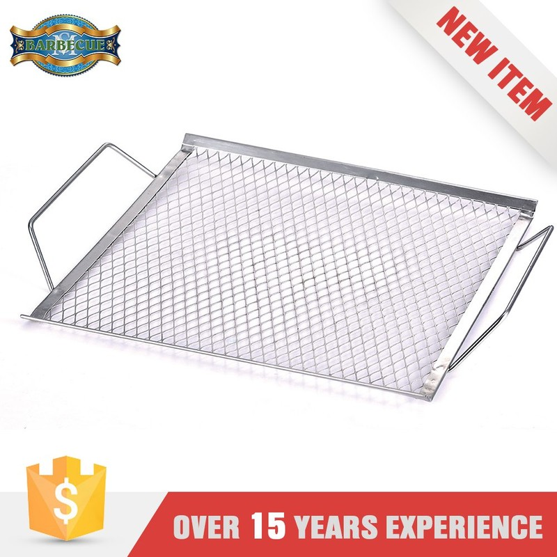 2016 Hot Product Bbq Grill Basket Stainless Steel Wire Grid