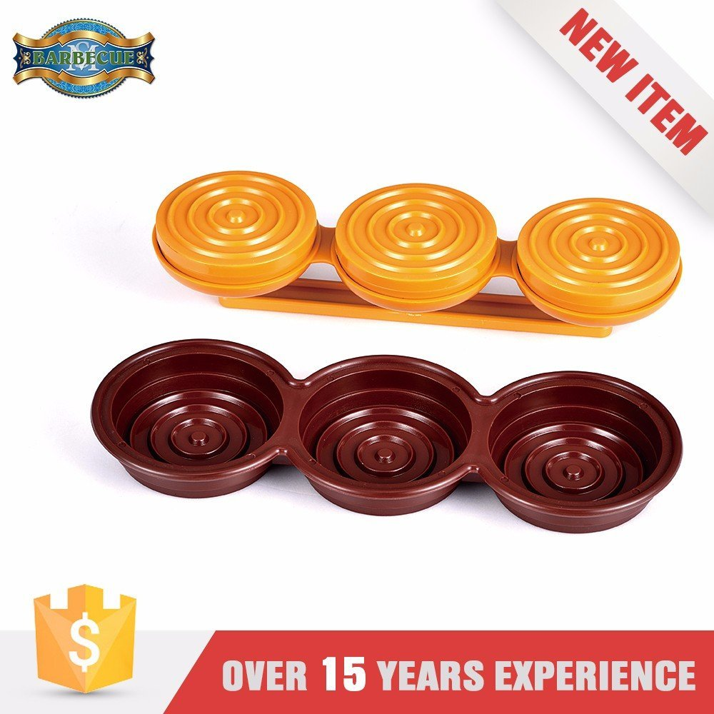 Top Quality Plastic Triple Mini Burger Press