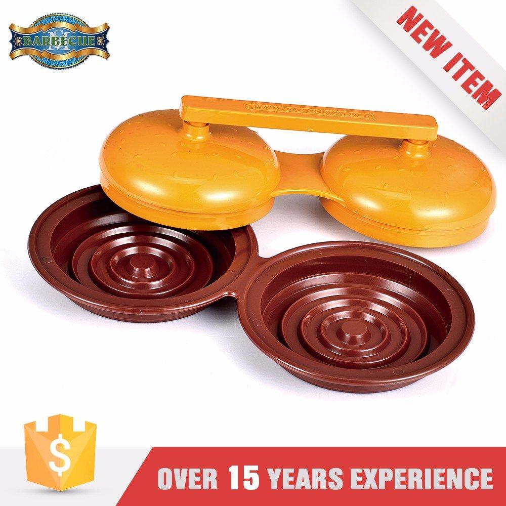 Hot Sales Best Quality Plastic Double Burger Press