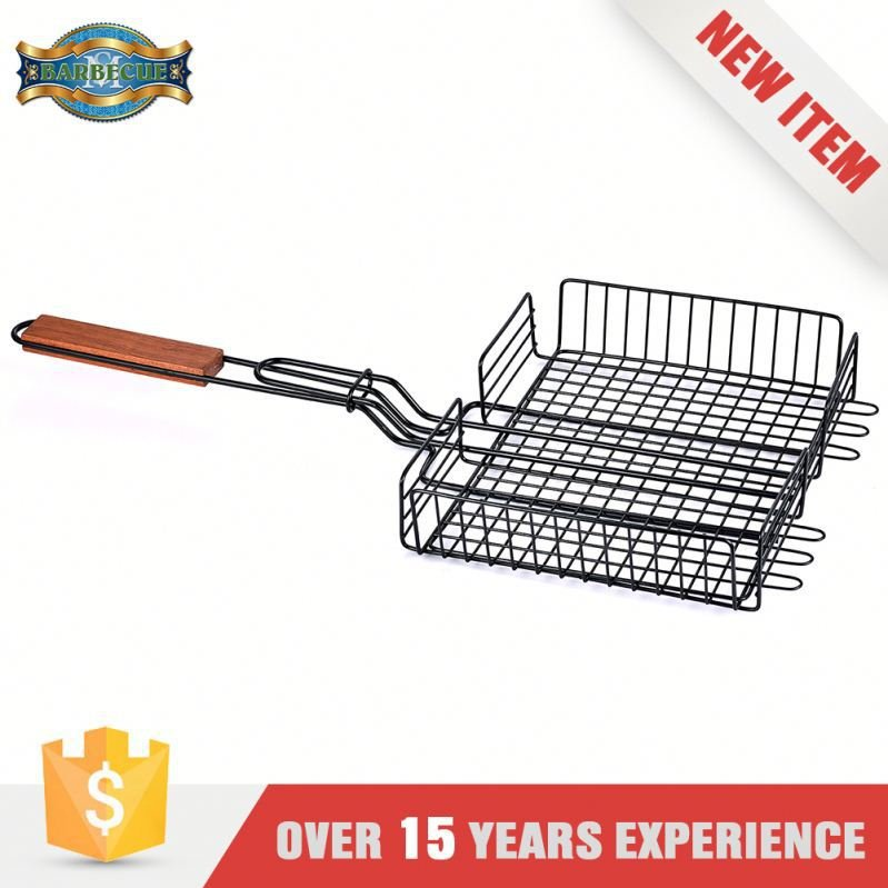 New Product Exceptional Quality Grill Basket With Pan