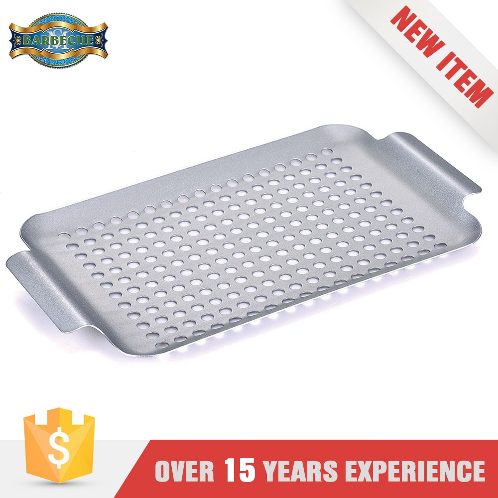 China Wholesale Silver Non Stick Korean Griddle Grill Pan