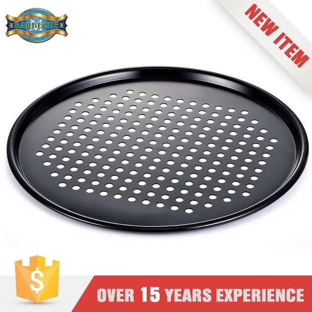 New Products On China Market Shallow Grill Plate Bbq Round