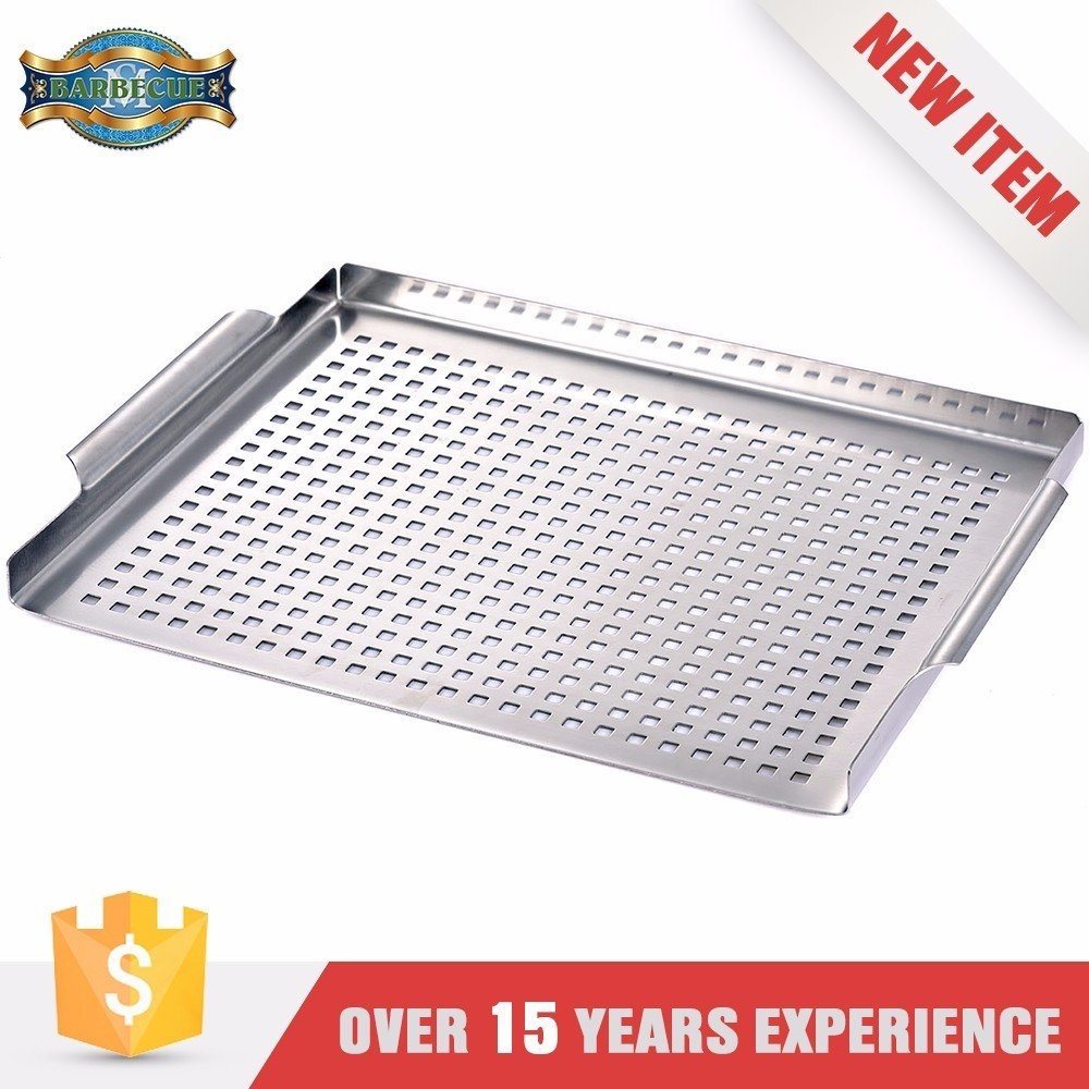 Serviceable Stainless steel BBQ Grill Topper