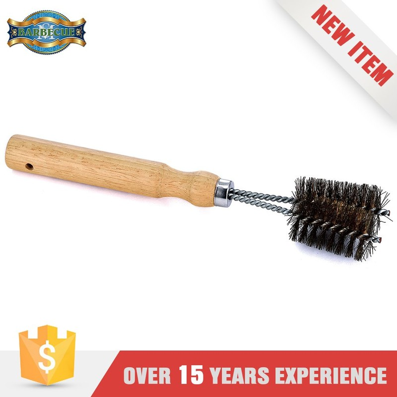 Hot Product Barbecue Tool Wooden Handle Bristle Bottle Brush