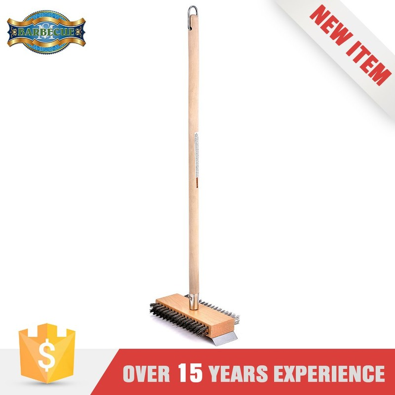 Alibaba Bbq Tool Kitchen Wooden Long Handle Cleaning Brush