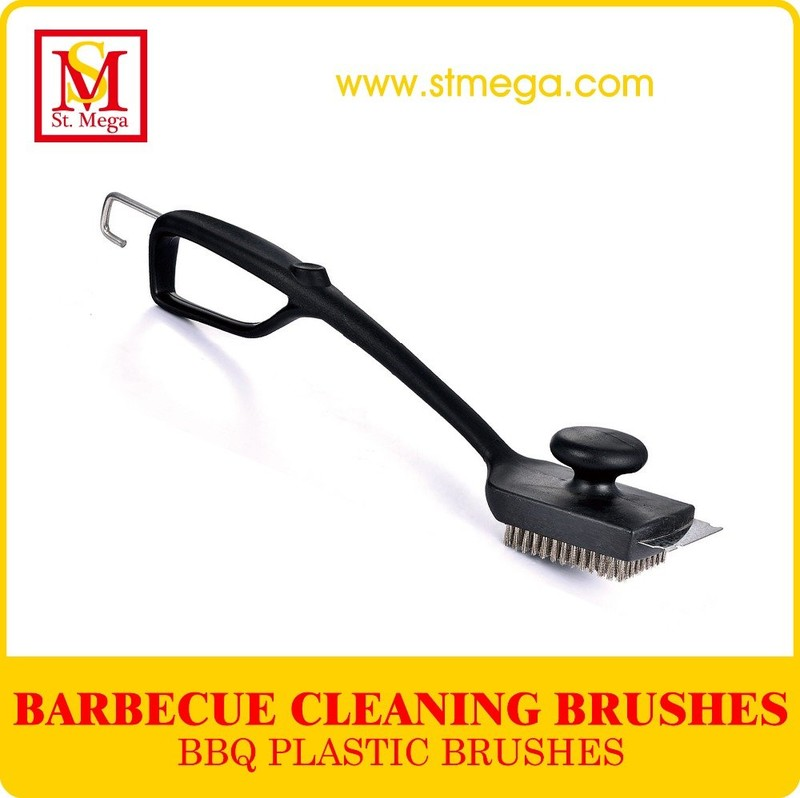 Large Head BBQ Grill Cleaning Brush