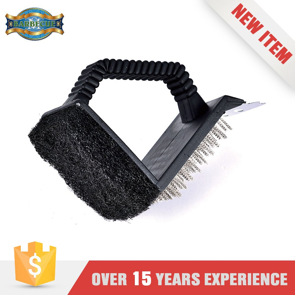 Alibaba China Plastic Handle Bbq Cleaning Grill Brush Cleaner