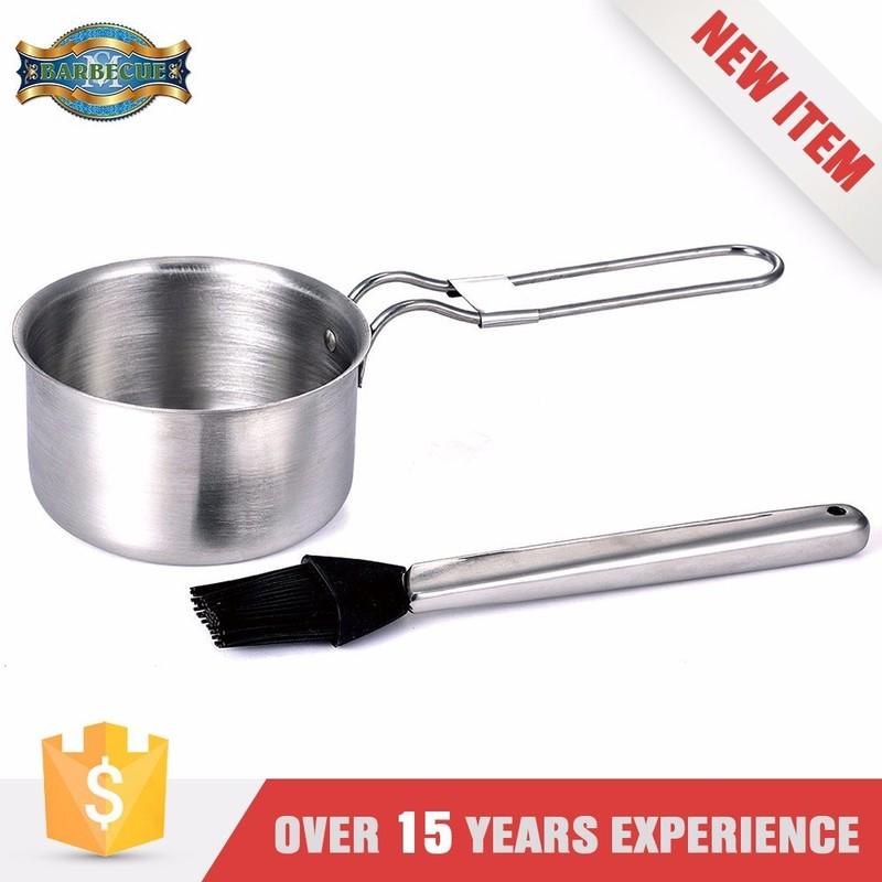 Wholesale Heat Resistance Two Handle Saucepan