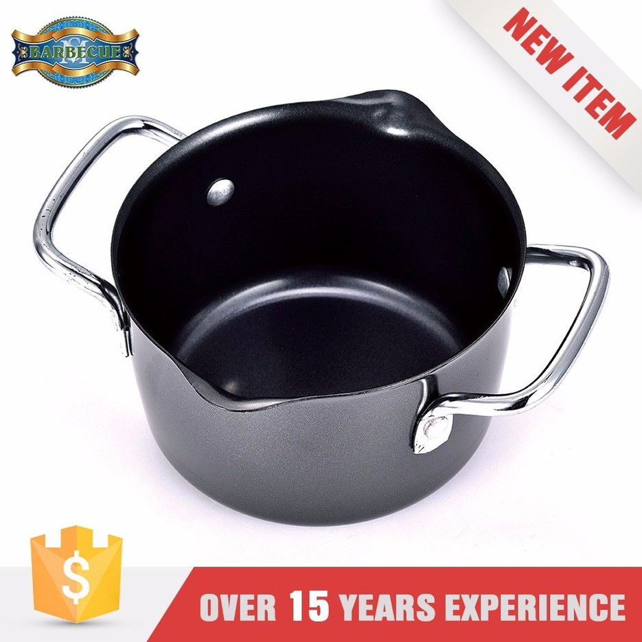New Product Easily Cleaned Double Wall Whistling Milk Pot