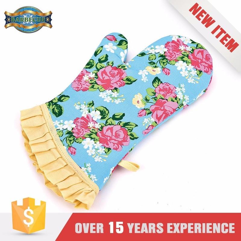 Top Grade Easily Cleaned Waterproof Heat Resistant Gloves
