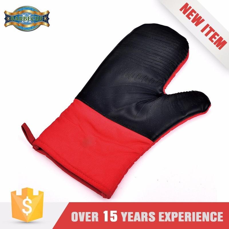 Wholesal Bbq Heat Resistant Cotton Kitchen Glove