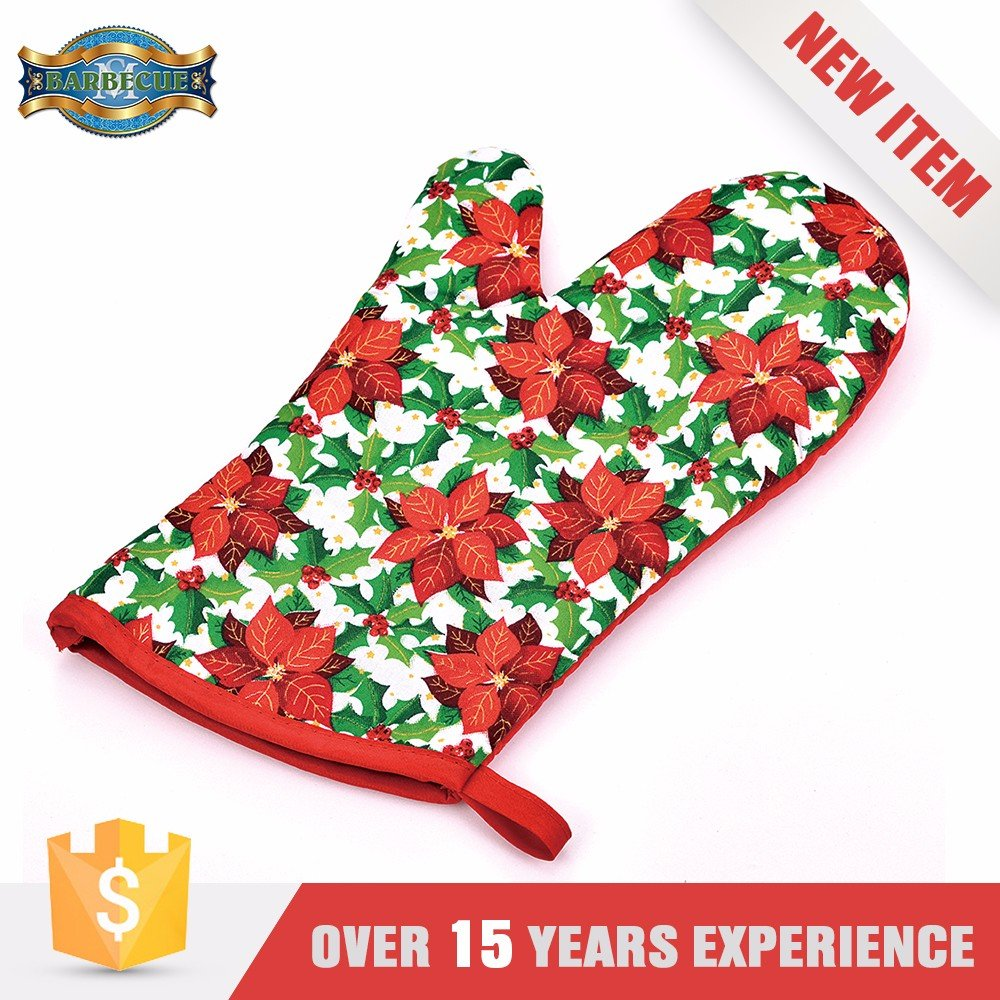 Disposable Waterproof Heat Resistant Grill Glove Oven Gloves With Fingers