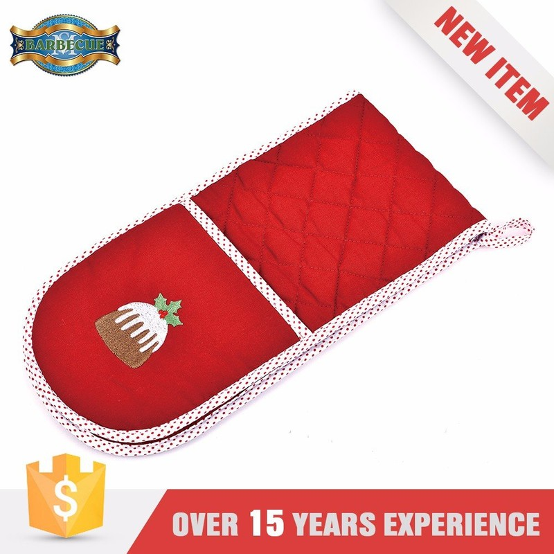 Best Quality Easy To Use Reusable Kitchen Mitts Cooking Glove Heat Pack Oven Gloves Bs 6526
