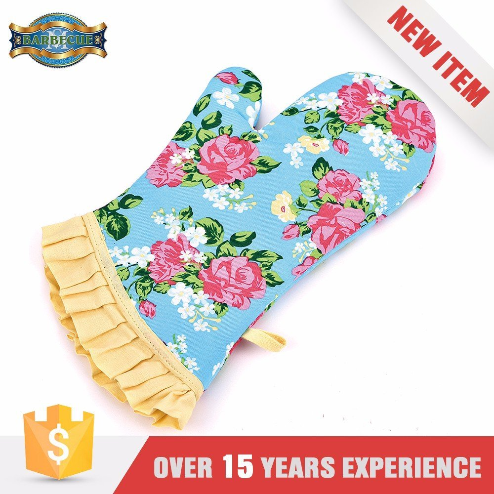 Hot Quality 932 F Extreme Heat Resistant Gloves Long Oven Glove Cook