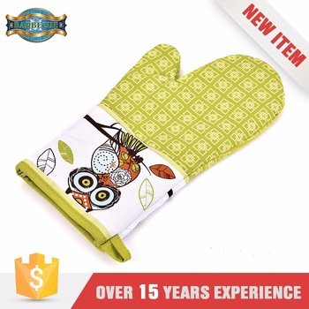 Hot Selling Easily Cleaned Bbq grilling cooking gloves
