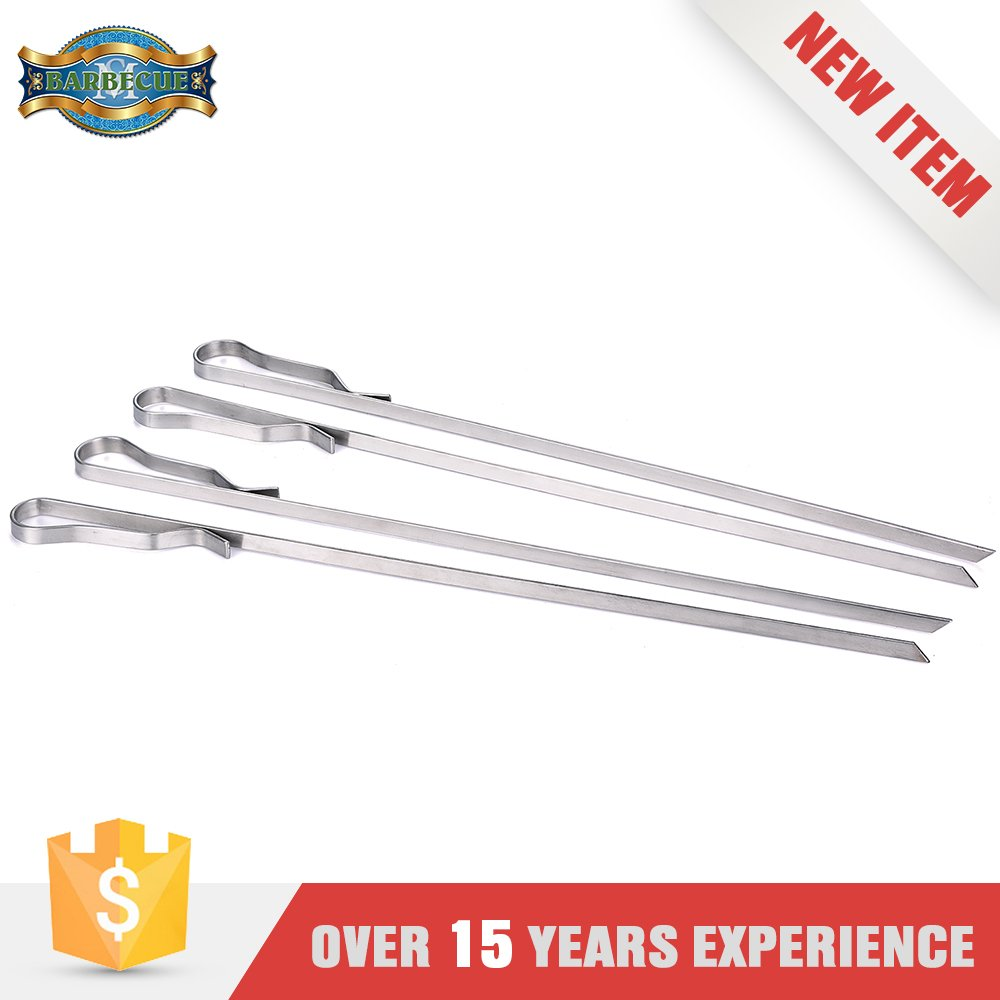 Made In China Grilling Bbq Metal Skewers Stainless Steel