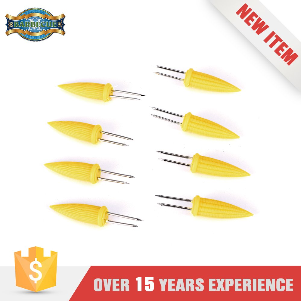 Alibaba China Market Cheapest Yellow Colored Corn Skewers