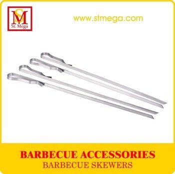 Stainless Steel Grilling Kabob Skewers