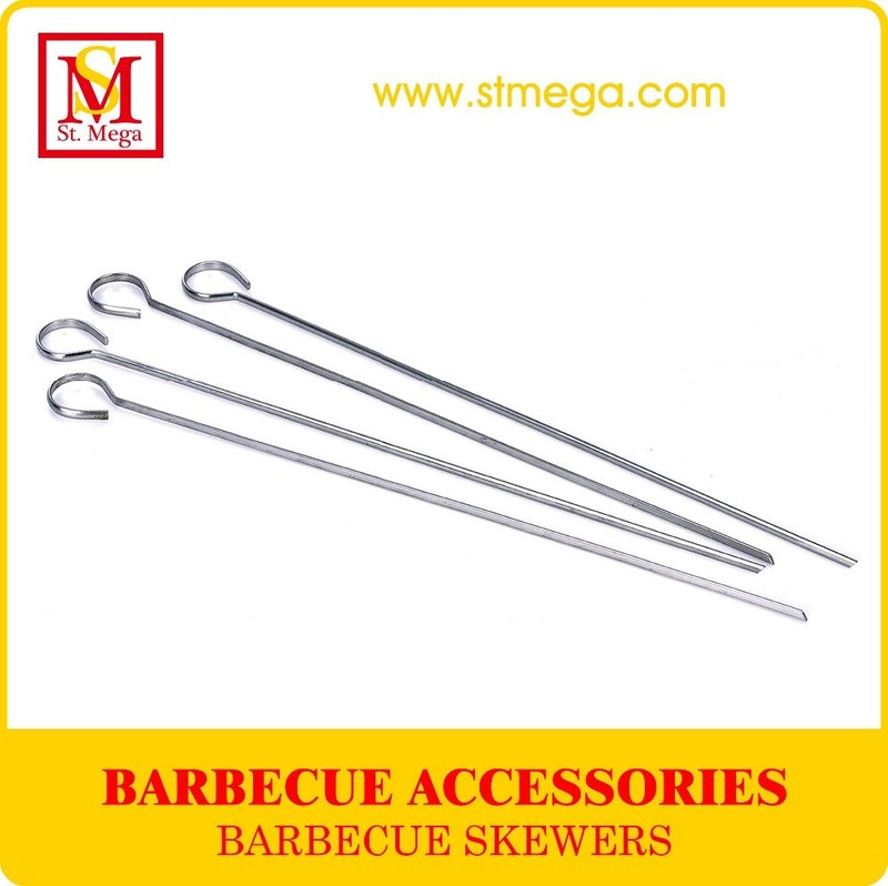 Stainless Steel BBQ Grilling Skewers