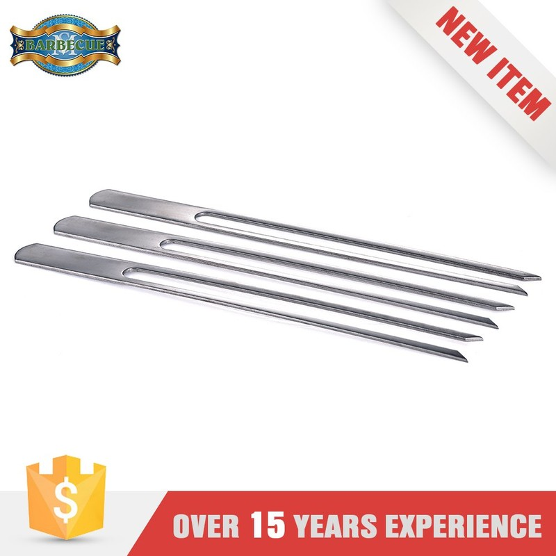 China Supplier Barbecue Kebab Stainless Steel Bbq Skewers