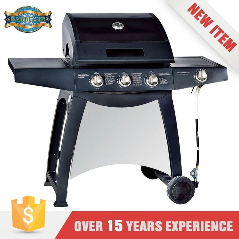 Hot Sales Easily Cleaned Gas Grill With Rotisserie Burner